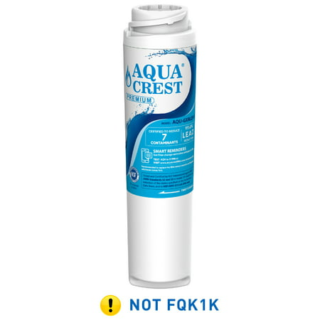AQUA CREST GXRLQR Inline Water Filter, NSF 53&42 Certified to Reduce 99% Lead, Compatible with GE SmartWater Twist and Lock in-Line GXRLQR Water