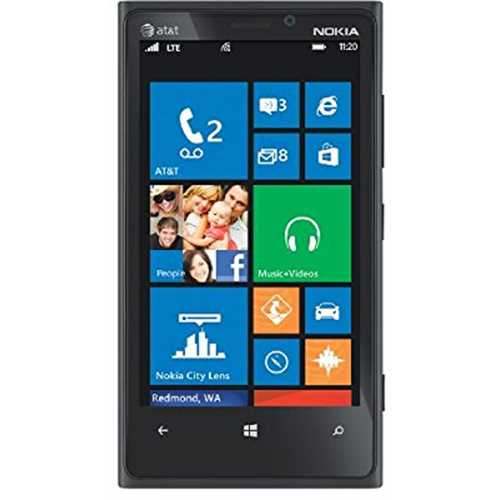 Refurbished Nokia Lumia 920 32GB AT&T Smartphone - Black