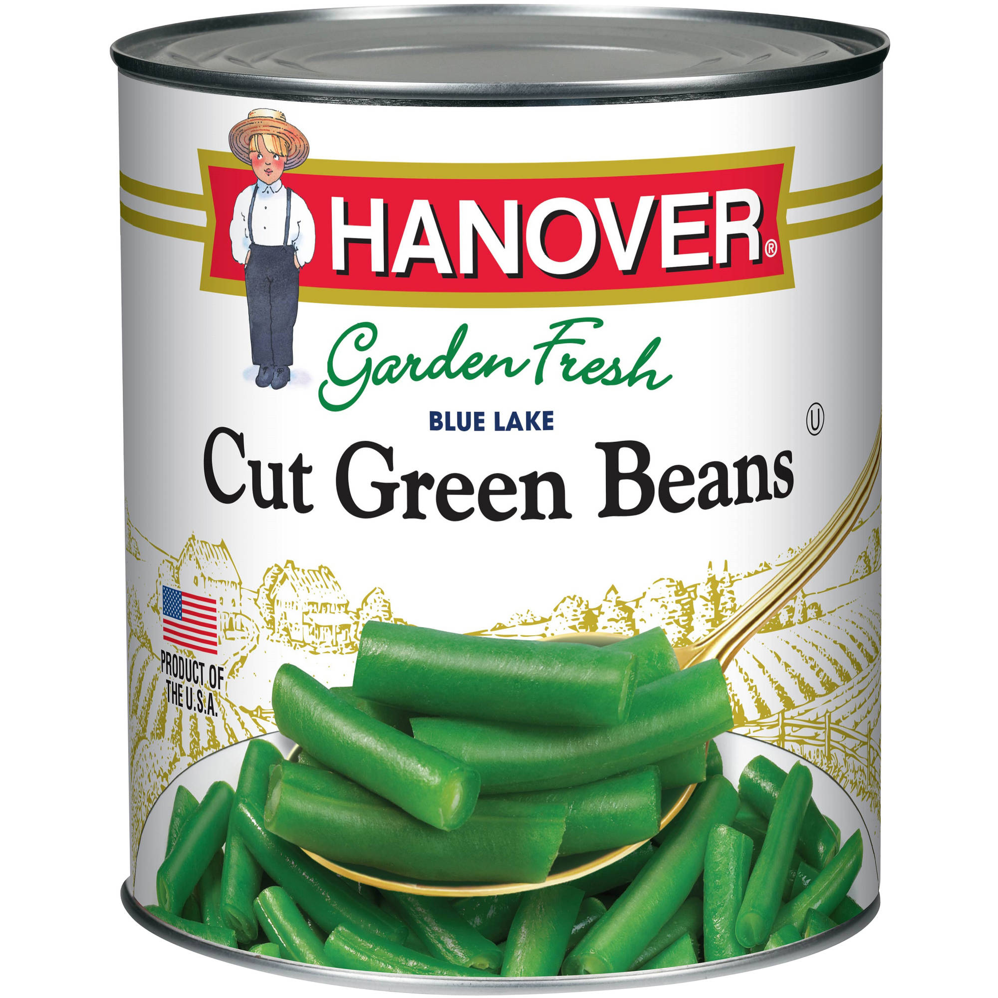 Hanover Garden Fresh Blue Lake Cut Green Beans, 16 oz