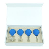 Face & Body Glass Vacuum Cupping Therapy Gift Set