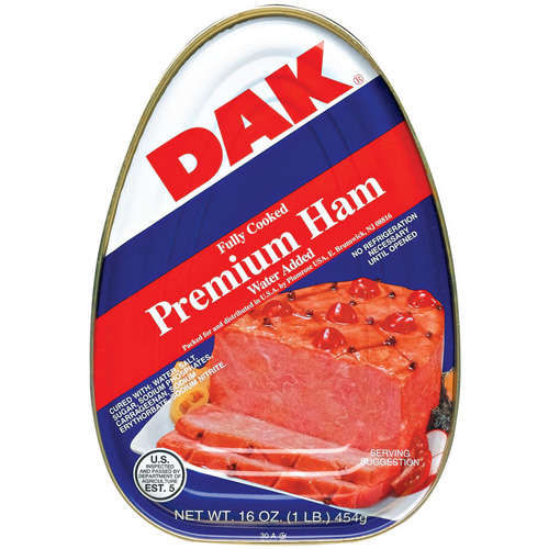 Dak Cured Ham, 16 oz