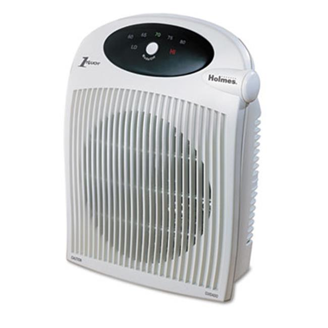 Holmes Products HFH442NUM 1500 W Heater Fan With ALCI Heater, Plastic Case - White
