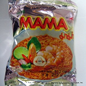 Mama - Oriental Style Instant Noodles - Shrimp Flavour (Tom Yum) ( One Small Bag)](Oriental Noodles)