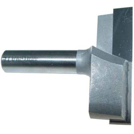 Magnate 2708 Surface Planing (Bottom Cleaning) Router Bit, 2-1/2-Inch Cutting Diameter, 1/2-Inch Shank - Bottom Drill