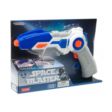 Guns And Swords (Lasertech Space Blaster Toy Gun and Sword 2-in-1 Light Up Weapon for)