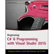 Beginning C# 6 Programming with Visual Studio 2015 (eBook)