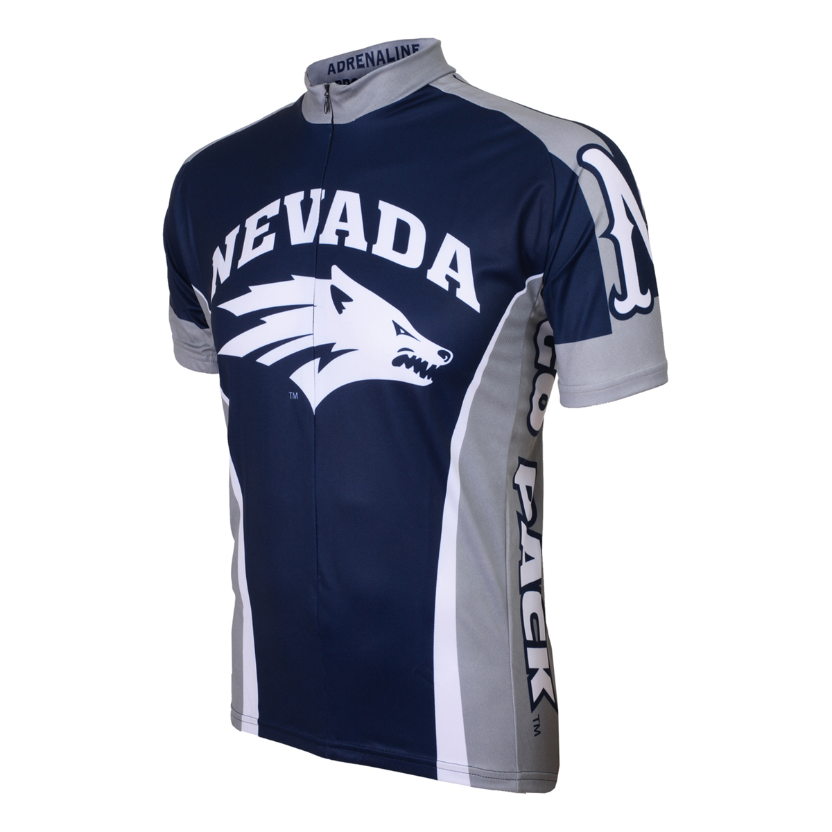 Adrenaline Promotions University of Nevada Wolf Pack Cycling Jersey