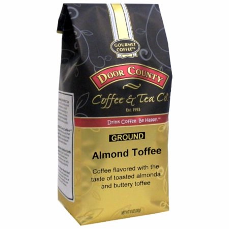 Door County Coffee Almond Toffee 10oz - Ground
