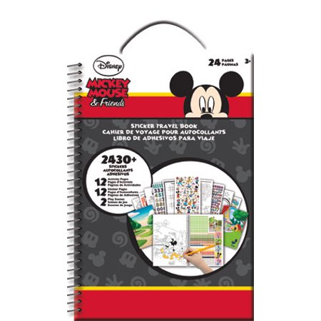 Sticker Travel Book - Disney - Mickey & Friends Toys Decals New st4520 - Mickey Stickers