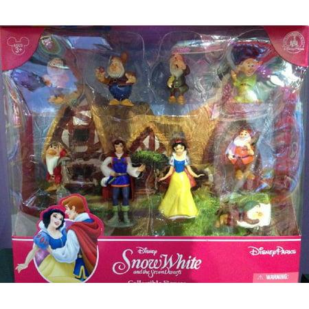 Disney Parks Snow White Figurine Playset Play Set Cake Topper NEW - Villain In Snow White