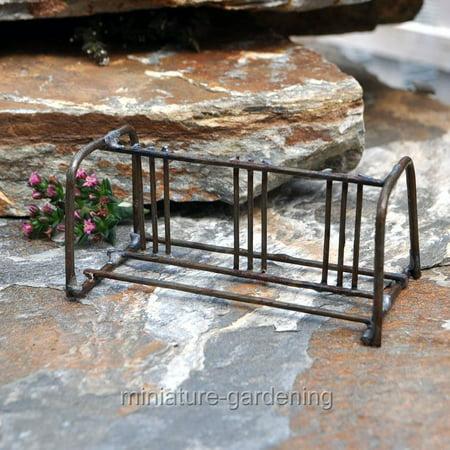 Miniature Bike Rack for Miniature Garden, Fairy Garden