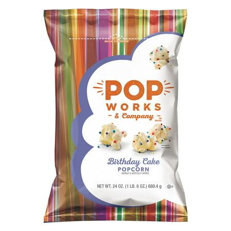 Birthday Cake Popcorn Popworks