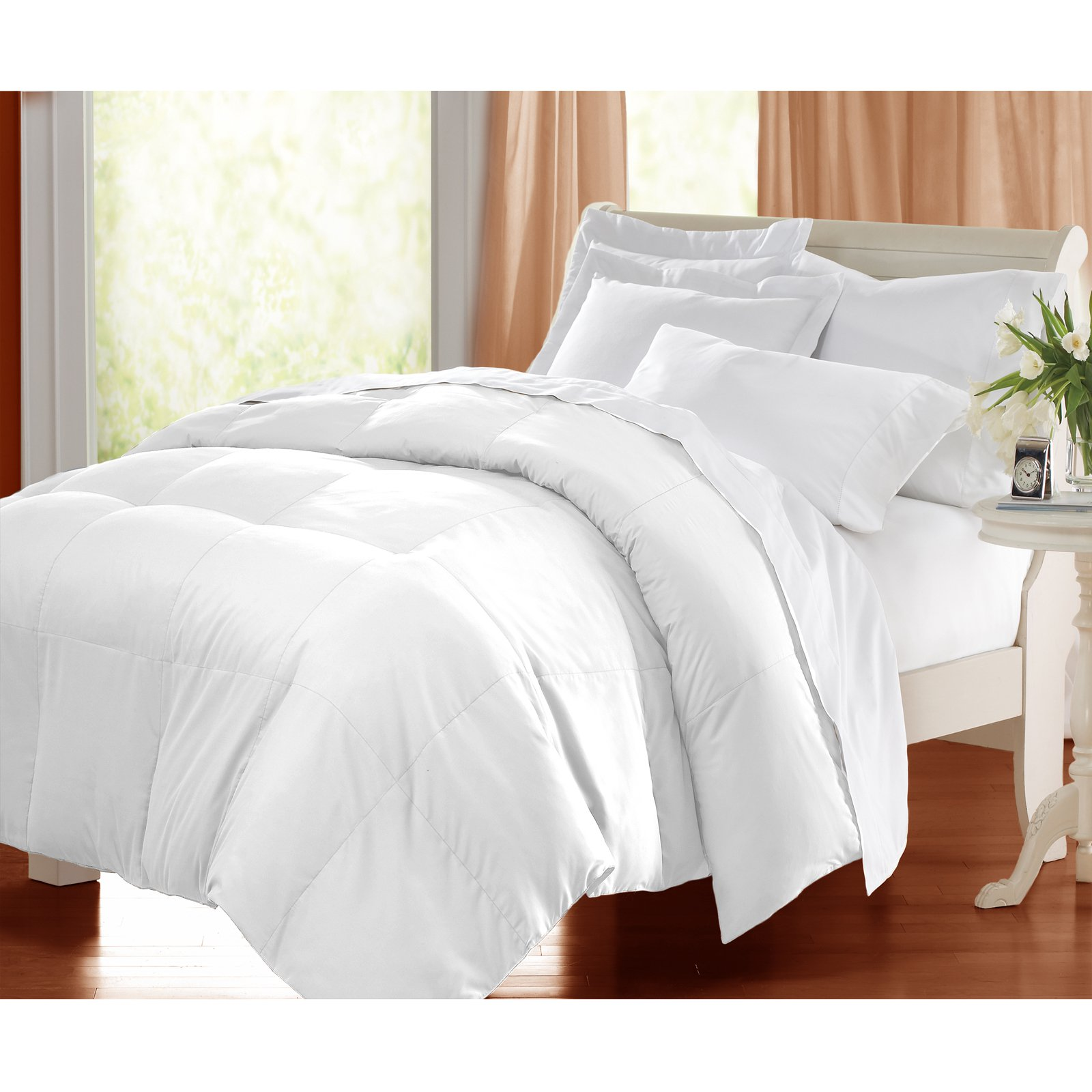 Microfiber Down Alternative Comforter Walmart Com