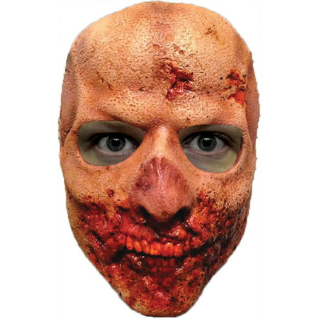 Walking Dead Teeth Walker Latex Mask Adult Halloween Accessory - Halloween Latex Applications