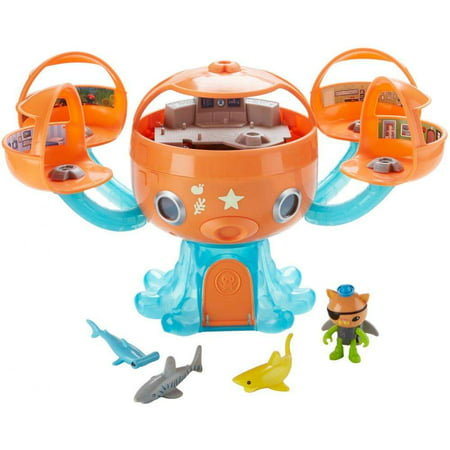Octonauts Octopod Shark Adventure Playset - Octonauts Characters Tweak