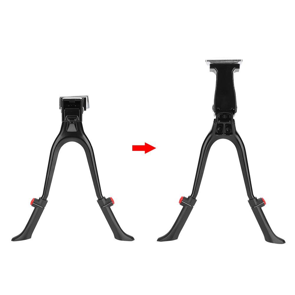 "28"" Double Leg Center Mount Bike Kickstand Aluminum Adjustable 24"""
