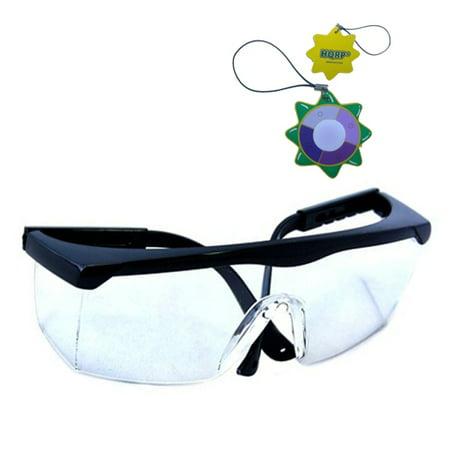 HQRP UV Protecting Eyewear / Safety Glasses for Beauty / Nail Salon, Dental clinic, Surgery, Pathology lab, Medical clinic + HQRP UV (Medical Eyewear)