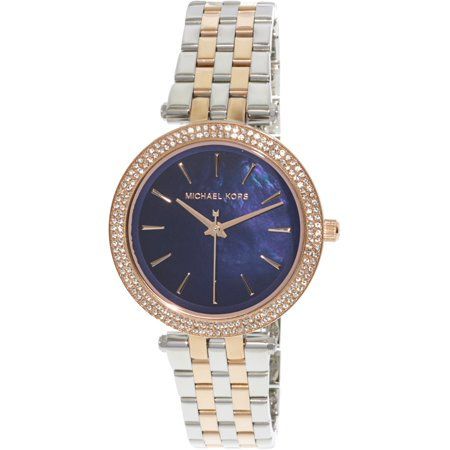 8a8a76282b20 Michael Kors - Women s Mini Darci MK3651 Silver Stainless-Steel Quartz Fashion  Watch - Walmart.com