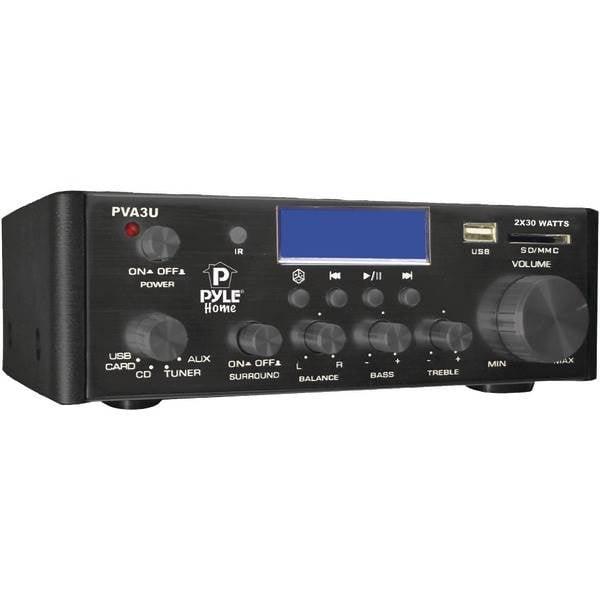 Petra 60-Watt Hi-Fi Mini Amp with USB/SD Card Player