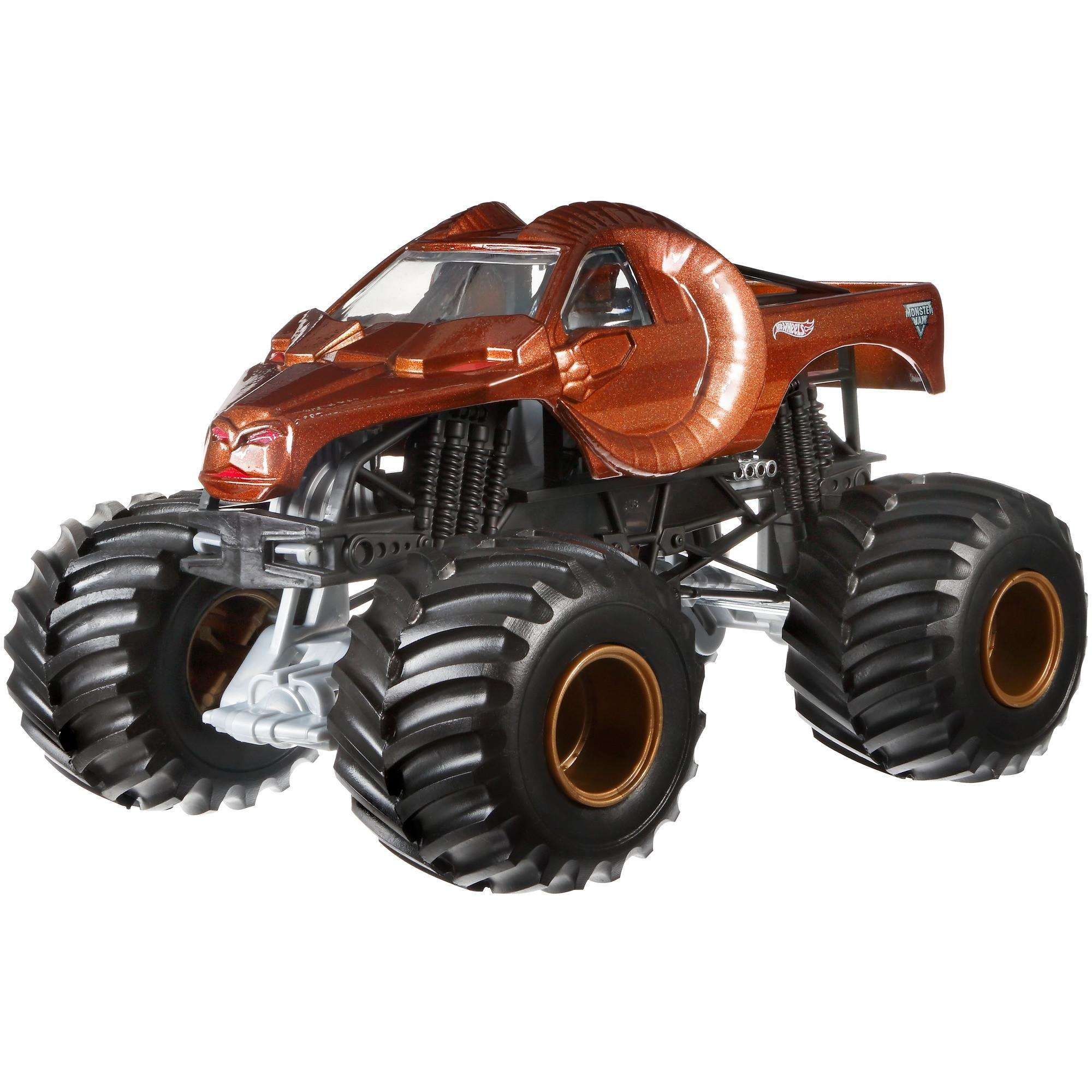 Hot Wheels Monster Jam Zombie Hunter Vehicle