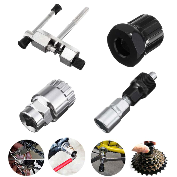 Universal Bicycle Repair Tools Bike Crank Remover Pullers Remover Tools Tool 6T