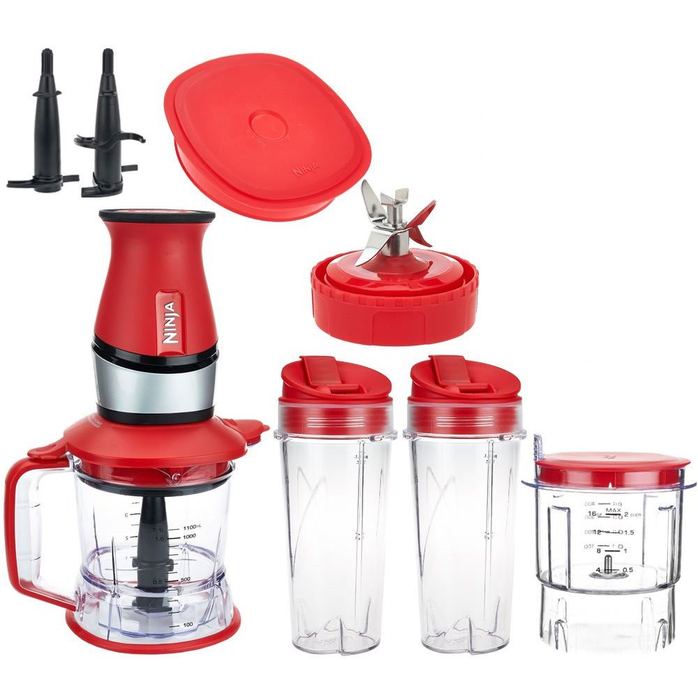 Nutri Ninja 2 in 1 700 Watt Food Processor and Blender (Certified Refurbished)