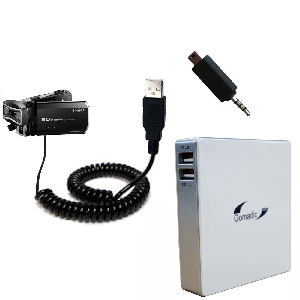 Gomadic High Capacity Rechargeable External Battery Pack suitable ...