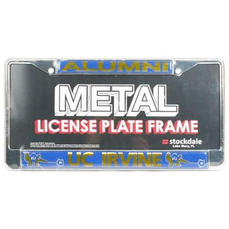 License Plate Insert (Uc Irvine Anteaters Alumni Metal License Plate Frame W/domed)