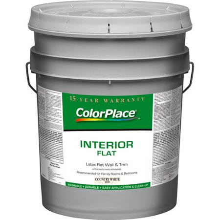 Colorplace Country White Flat Interior Paint 5 Gal