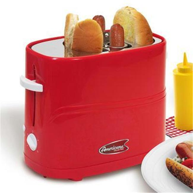 Maxi Matic USA ECT-304R Hot Dog Toaster In Red