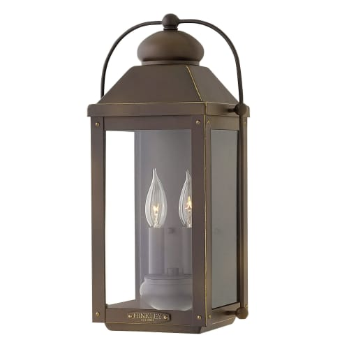 Hinkley Lighting 1854 2-Light Outdoor Wall Sconce From the Anchorage Collection