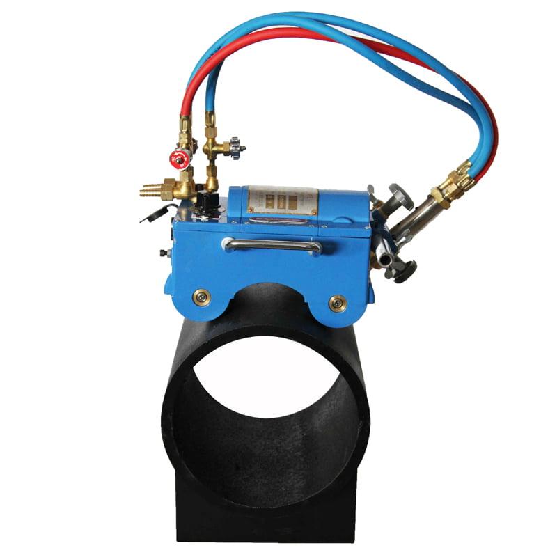Electromagnetic Gas Pipe Cutting Machine Torch Burner Beveler 110V