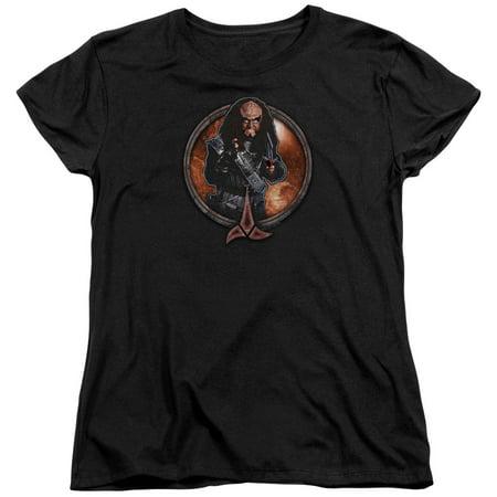 Star Trek Gowron Womens Short Sleeve - Star Trek Shirt Womens
