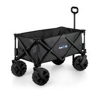 Picnic Time NFL Adventure Wagon Elite All-Terrain Folding Utility Wagon
