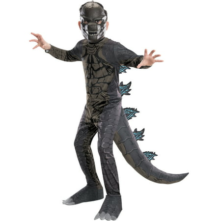 Godzilla King of the Monsters Child Classic Godzilla Costume](Child King Costume)