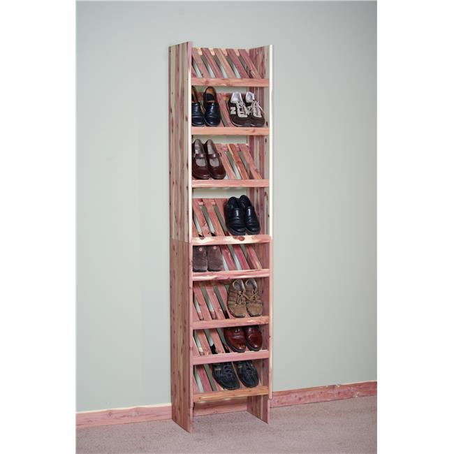 Northern Kentucky Cedar DVSC1812 Aromatic Red Cedar 18 in. Deluxe Ventilated Shoe Cubby Kit