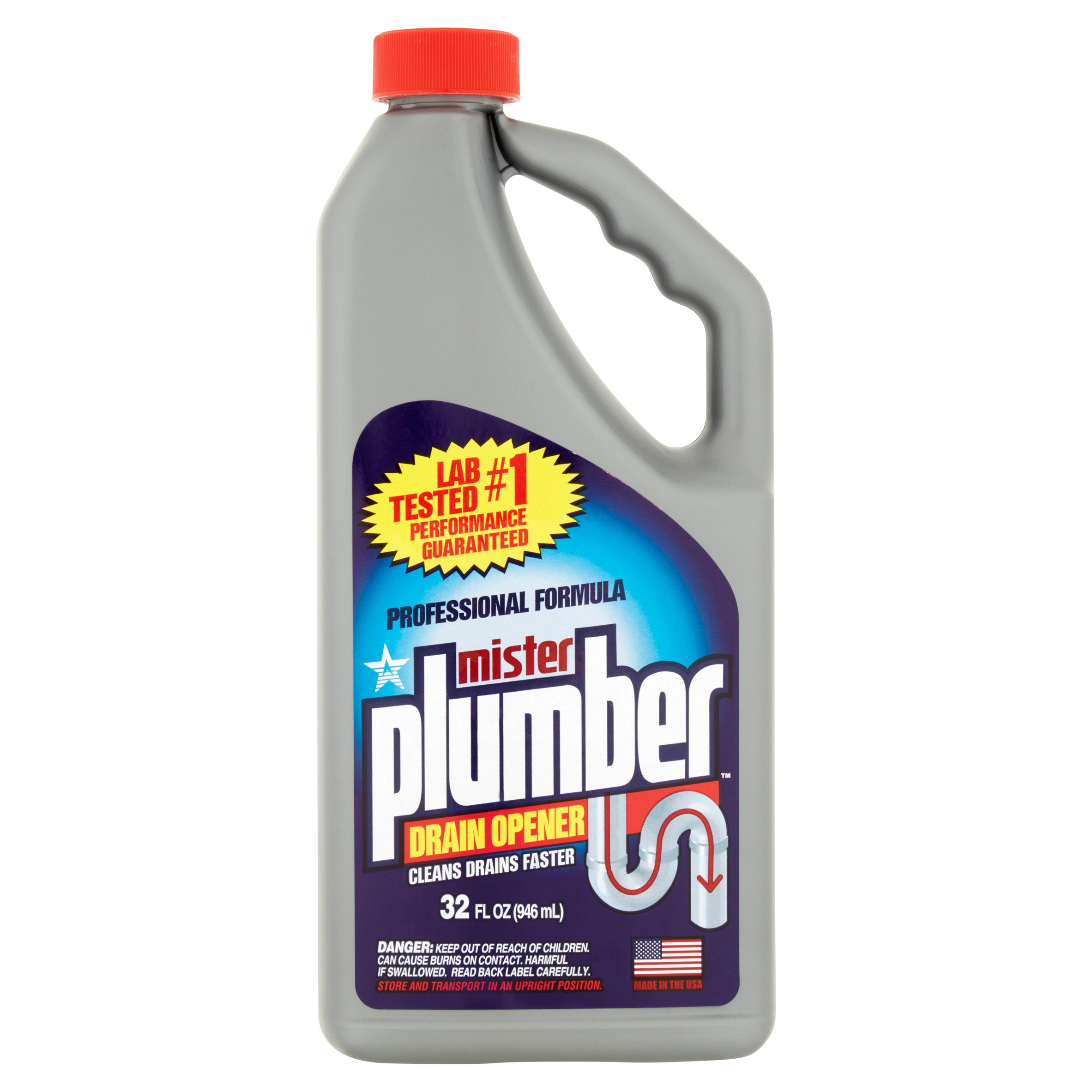 Mr Plumber 32oz Drain Opener Walmart Com