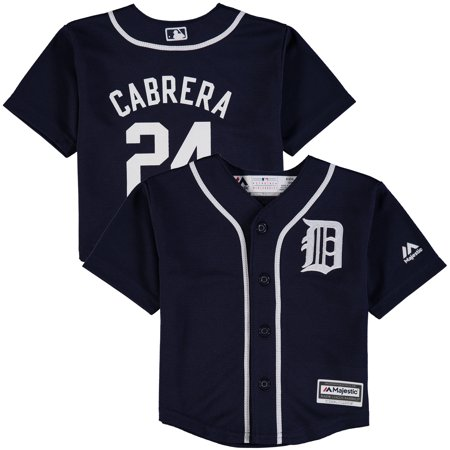 Cabrera Jersey - Miguel Cabrera Detroit Tigers Majestic Infant Fashion Official Cool Base Player Jersey - Navy
