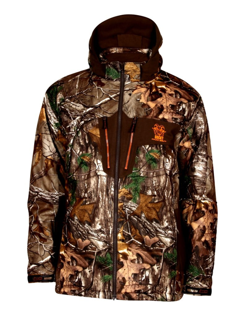 Rocky Outdoor Jacket Mens Athletic Mobility Parka Realtree HW00126 by Rocky
