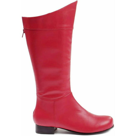 Shazam Red Boots Men's Adult Halloween Costume Accessory - Red Thigh High Boots For Halloween
