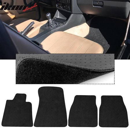 Compatible with 84-91 BMW 3 Series Coupe Floor Mats Carpets Front & Rear 4PC