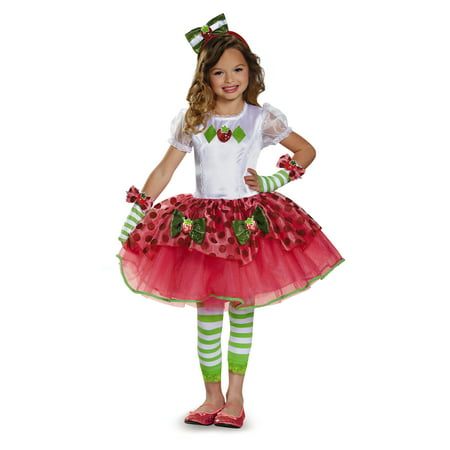 Child Strawberry Shortcake Tutu Prestige Costume by Disguise 84499 - Strawberry Shortcake Onesie