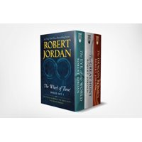 Wheel of Time Premium Boxed Set I : Books 1-3 (The Eye of the World, The Great Hunt, The Dragon Reborn)