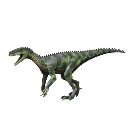 Herrerasaurus Is A Theropod Dinosaur From The Late Triassic Of