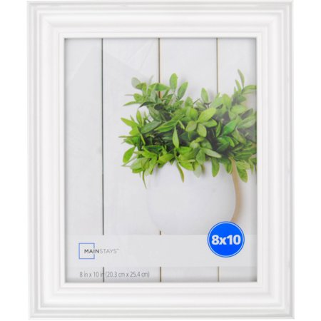 MS 8X10 Traditional White Picture Frame - Walmart.com