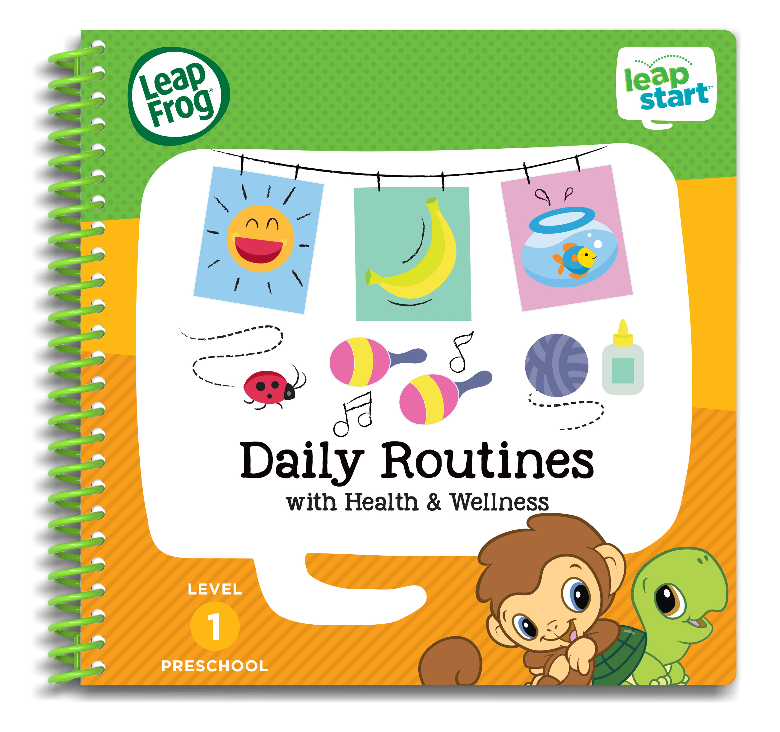 LeapFrog LeapStart Preschool Daily Routines Activity Book by LeapFrog®