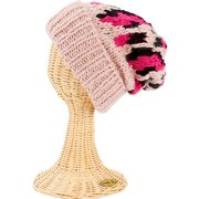 San Diego Hat Oversized Cable Knit Beanie Hat with Cuff & Pattern