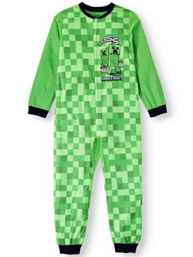 Boys' Minecraft Onesie Pajama Sleeper (Little Boy & Big Boy)