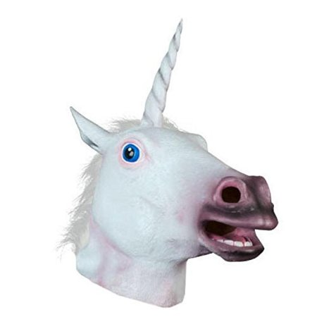 Sunxue Halloween Unicorn Animal Mask for $<!---->