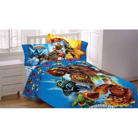Skylanders Spyro Adventure Sky Friends 3pc Twin Bed Sheets